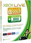 Xbox LIVE 12 month Gold membership pl...