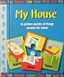 img - for My House ~ 26 Picture Puzzles of Things Around the House ~ book / textbook / text book