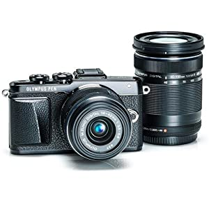 Olympus PEN E-PL7 Mirrorless Micro Four Thirds Digital Camera 14-42mm f/3 Bundle with ED 40mm-150mm Lens & Accessories