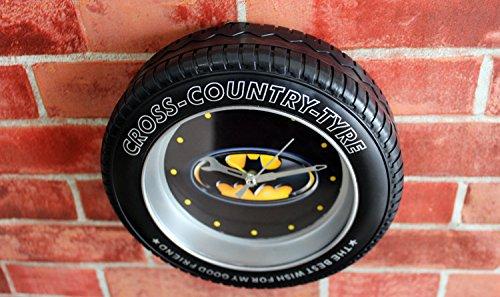 Weshop® - Creative Fashion Tire Bell Alarm Clock Home Decoration - Batman