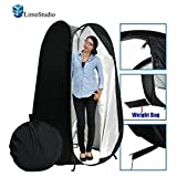 LimoStudio 6 ft. Portable Indoor Outdoor Camping Photo Studio Pop up Changing Dressing Tent Fitting Room with Carrying Case, AGG348