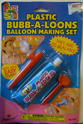 Plastic Bubb-a-loons Balloon Making Set - 1
