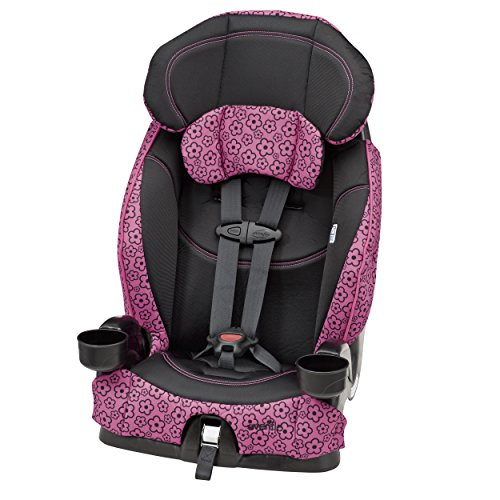 Great Deal! Evenflo Chase Select Harnessed Booster Car Seat, Olivia