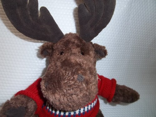 "AMERICAN EAGLE outfitters Moose Plush 14"" - 1"