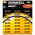 Duracell Duralock 24pk Hearing Aid Device Battery 1.4v Zinc Size 312