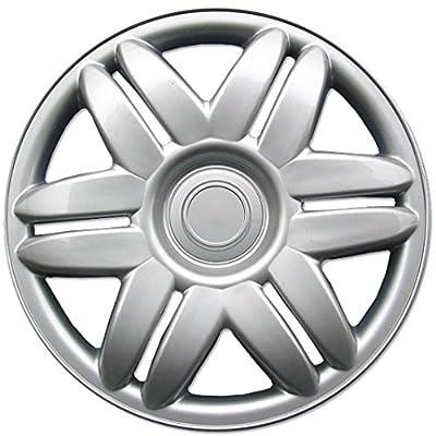 "BDK 00-01 Toyota Camry Hubcaps Wheel Cover, 14"" Silver Replica Cover, (4 Pieces)"