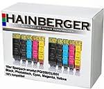 10x Hainberger XXL Patronen f�r Canon...