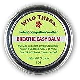 Breathe Easy Balm. Natural Sinus Infection Relief Helper. Use directly/with Sinus Rinse, Sinus Buster, Sinus Mask, Sinus Inhaler, Vaporizer & Neti Pots. Open Blocked Airways for Sinus Allergy Relief.