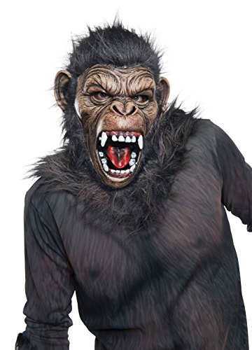 Rubie's Costume Men's Dawn Of The Planet Of The Apes Adult Deluxe Caesar Mask