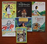 img - for Native American Indians (Teacher Unit): Set of 7 Picture Books (Pocahontas ~ The Rough-Face Girl ~ Little Firefly: An Algonquian Legend ~ Clamshell Boy: A Makah Legend ~ The Gift of the Sacred Dog ~ Totem Poles ~ Pocahontas: Princess of the River Tribes (Drawing America)) book / textbook / text book