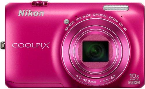 nikon-coolpix-s6300-compact-digital-camera-pink-16mp-10x-optical-zoom-27-inch-lcd