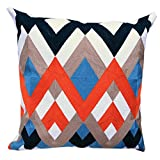 Secret Life(TM) Full Embroidery Cotton Cushion Cover Toss Pillow Case 18