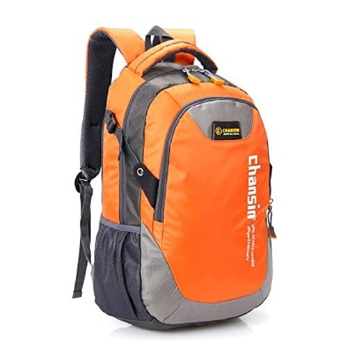 軽量 大容量 の バック パック 登山 アウトドア 旅行 用 リュック サック / 通勤 / 通学 アルパイン バッグ (オレンジ)