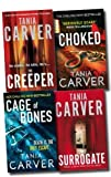 Tania Carver Brennan and Esposito Series Collection Tania Carver 4 Books Set (Choked, The Surrogate, The Creeper, Cage Of Bones)