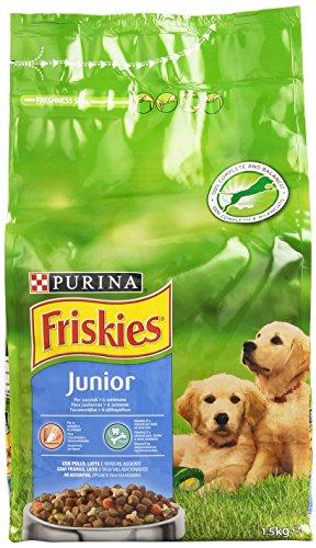 Friskies - Junior, Alimento Completo per Cuccioli dalle 6 Settimane , 1.5 kg