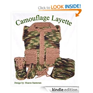Free Crochet Pattern - Camo Dog Sweater from the Pets Free Crochet