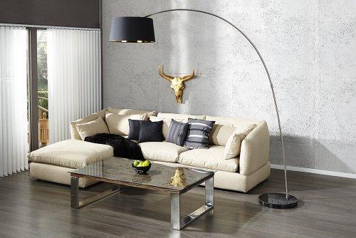 lampada-a-stelo-nero-oro-arco-lampada