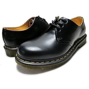 (ドクターマーチン) Dr.Martens R11838002 1461 3EYE GIBSON BLACK 26.0(UK7/US8) [並行輸入品]