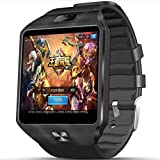 3G WIFI QW09 Android Smart Watch 512MB/4GB Bluetooth 4.0 Real-Pedometer SIM Card Call Anti-lost Smartwatch (black)