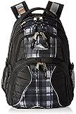 High Sierra Swerve Backpack, Black/Slate Plaid