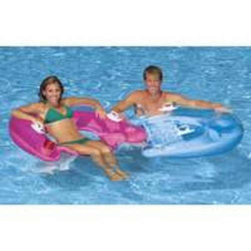 SIT'N FLOAT POOL TOY Blue by Intex bestellen