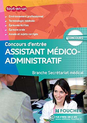 Assistant médico-administratif-Branche Secrétariat médical