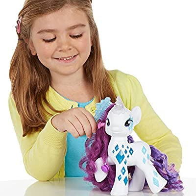 6 X My Little Pony Cutie Mark Magic Glamour Glow Rarity Figure