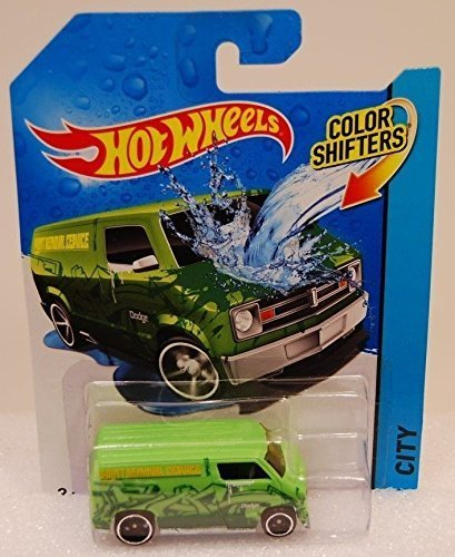 2014 Hot Wheels Color Shifters 12/48 - Dodge Van - 1
