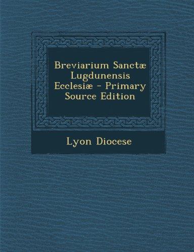 Breviarium Sanctae Lugdunensis Ecclesiae