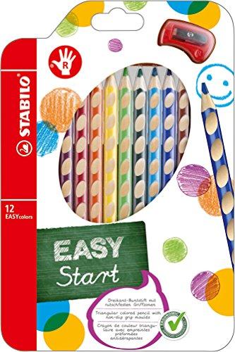STABILO-EASYcolors-Pochette-de-12-crayons-de-couleur-ergonomiques-taille-crayon-Droitier
