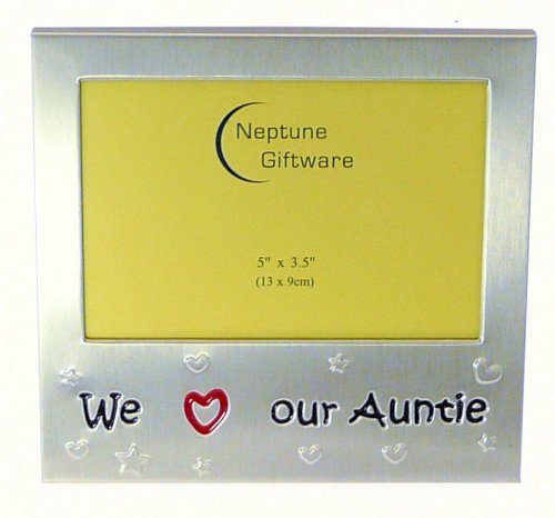 We Love Our Auntie - Photo Picture Frame Gift