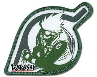 Naruto: Kakashi & Leaf Village Logo Anime Patch