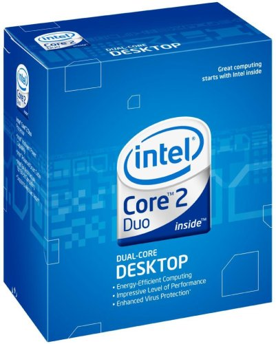 Intel E6750 Core2 Duo 2.66GHz, 1333MHz FSB, 4MB Cache, Dual Core, 64bit Processor Extensions Socket: 775