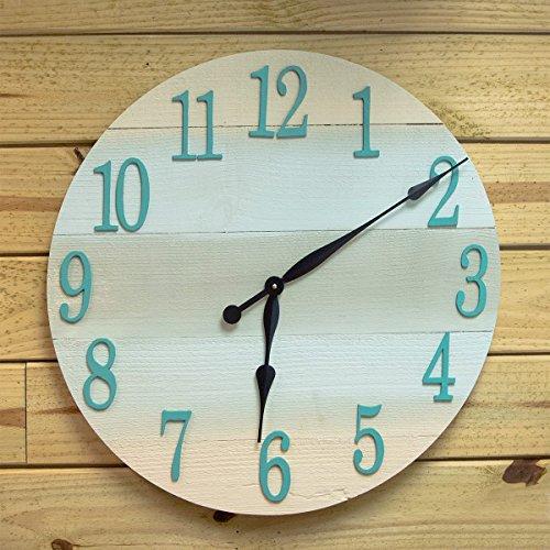coastal-theme-wall-clock-24-diameter-beach-wall-clock-beach-theme-clock-for-beach-cottage-or-coastal
