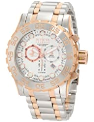 Invicta Men's 0817 Reserve Chronograph Silver Dial Stainless Steel Watch