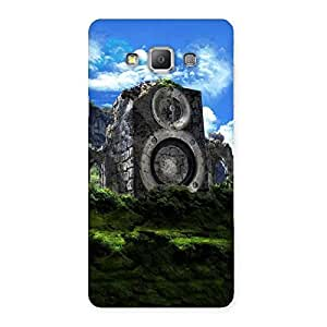 Luxirious Mountain Range Speaker Back Case Cover for Galaxy A7