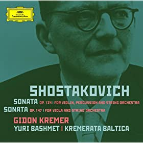 Shostakovich: Violin Sonata; Viola Sonata - orchestrated