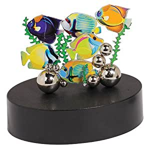 Golden Island Magnetic Sculpture Tropical Fish