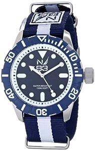 Nautica Men's N09646G Analog Display Quartz Blue Watch