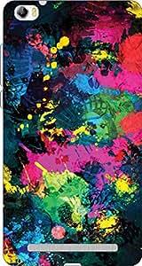 Meraki Printed Back Cover For Lava V5