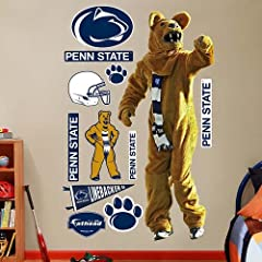 NCAA Penn State Nittany Lions Mascot Wall Graphic by Fathead