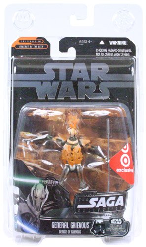 Star Wars Ultimate Galactic Hunt Demise of Grievous Figure - 2006 Target Exclusive