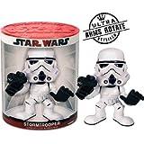 Joy Toy 8517 Star Wars Storm Trooper - Muñeco cabezón con cabeza móvil (14 x 17 cm) [importado de Alemania]