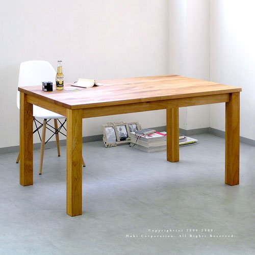 Ikususu(イクスス)無垢材テーブル IXRT-1300