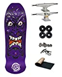 Santa Cruz Roskopp Purple Face Re-Issue 9.5 Old School Skateboard Deck 169mm Independent Trucks 70mm Wheels