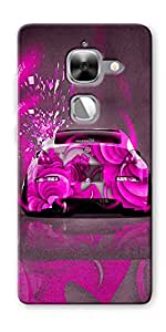 DigiPrints High Quality Printed Designer Soft Silicon Case Cover For LeEco Le Max 2