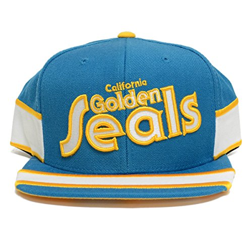 NHL Mitchell & Ness Team Vintage 3rd Jersey Snapback Hat (California Golden Seals) (California Golden Seals Jersey compare prices)