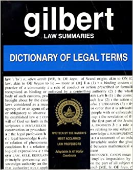 law glossary