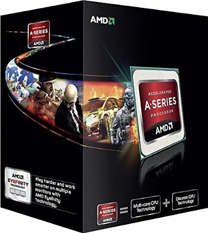AMD AD580KWOHJBOX AMD FX-Series Four-Core APUs 4 coeurs 3,8 GHz Socket FM2 Version Boite