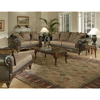 Serta Upholstery Fabric San Chocolate / Raisin Chaise